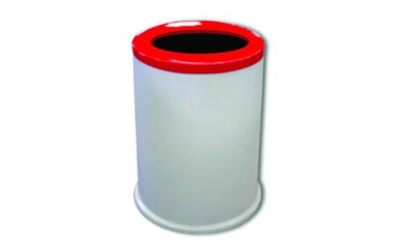 Detalhes do produto LIXEIRA TUBO COM TAMPA CENTRAL