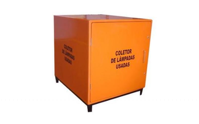 Detalhes do produto COLETOR PARA LÂMPADAS